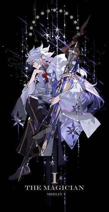 Fgo Tarot I Guess Fgo In 2019 Fate Anime Series Anime Fate