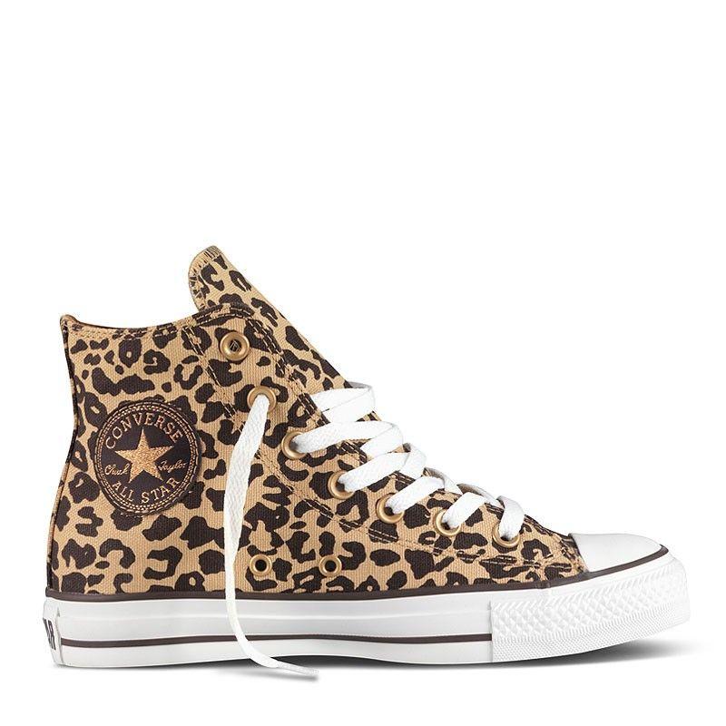 All Star Cheetah Hi Textile   Леопардовые кеды, Уличный ...