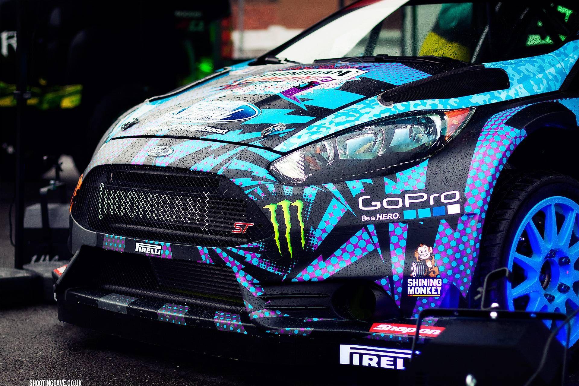 Hoonigan Racing Division - Ken Block Ford Fiesta | Ken block ...