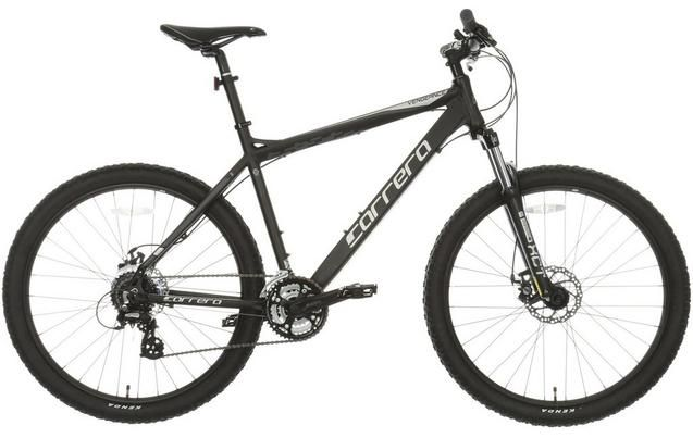 Carrera Vengeance Mens Mountain Bike - Black | bikes