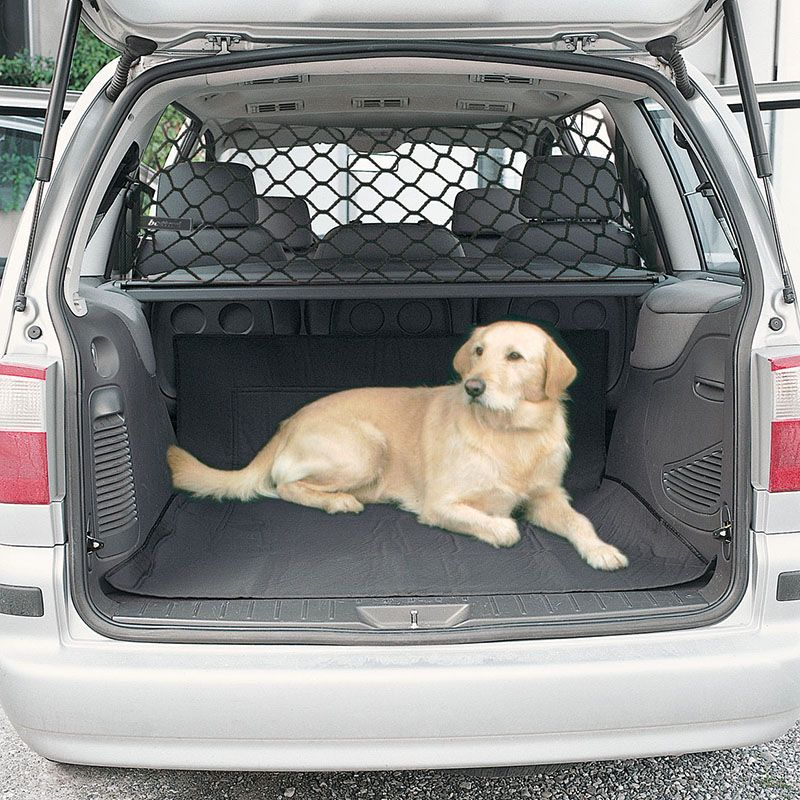 Pet Dog Cat Car Van Safety Isolation Net Guard Front Back Seat Barrier Mesh UK