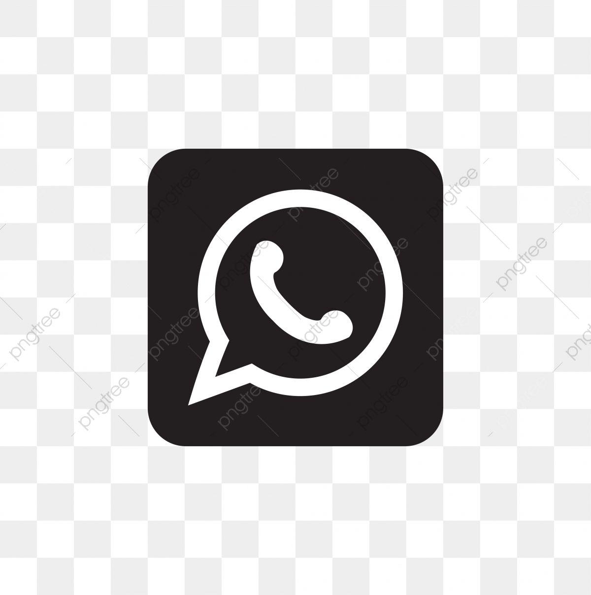 Whatsapp Social Media Icon Design Template Vector