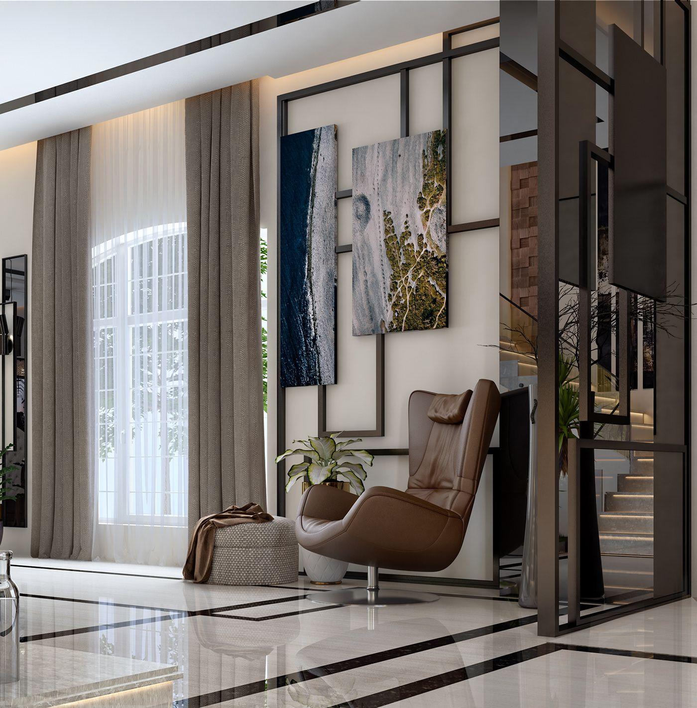 Home Decor 2012 Luxury Homes Interior Decoration Living: Villa Reception On Behance