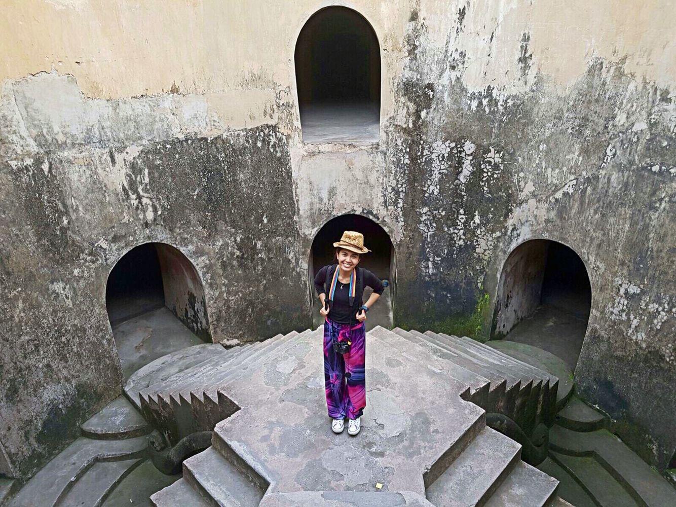July 2016: Taman Sari Water Castle in Yogyakarta, Indonesia
