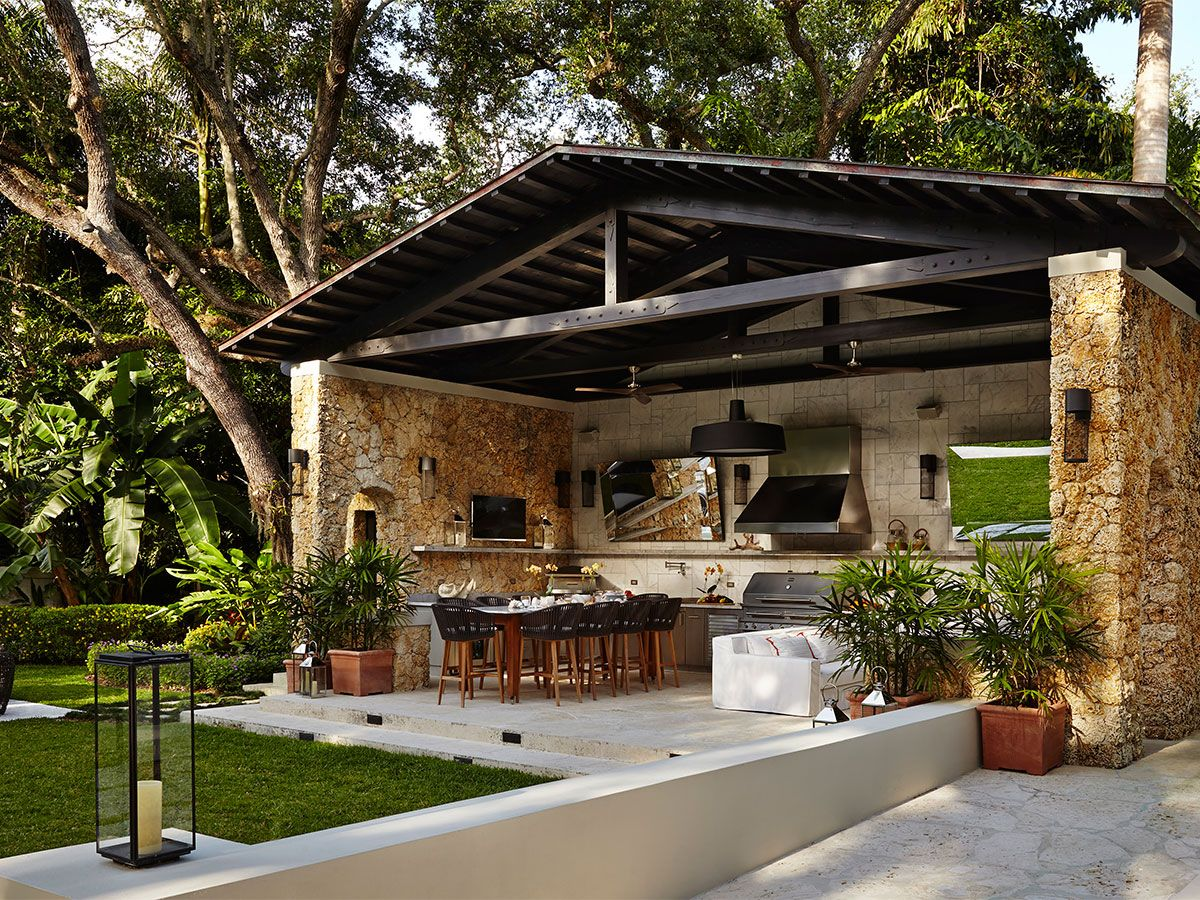 outdoor kitchen designing the perfect backyard cooking station covered outdoor kitchens on outdoor kitchen plans layout id=50372