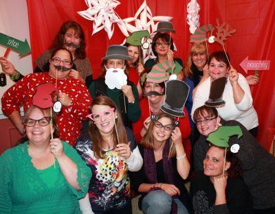 Christmas theme Photo booth