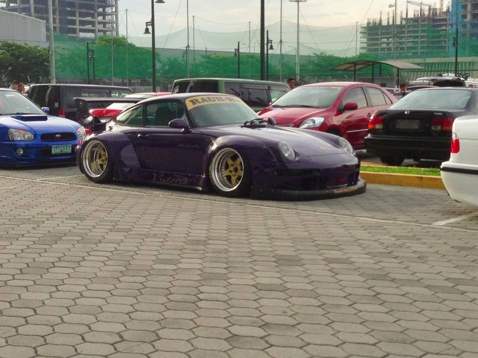 Brought Out Victoria For The Stance Pilipinas Fitted Meet At Bgc