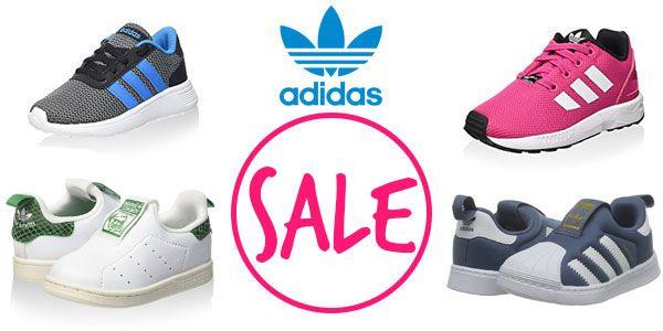 Coole Baby- und Kinderschuhe von Adidas.