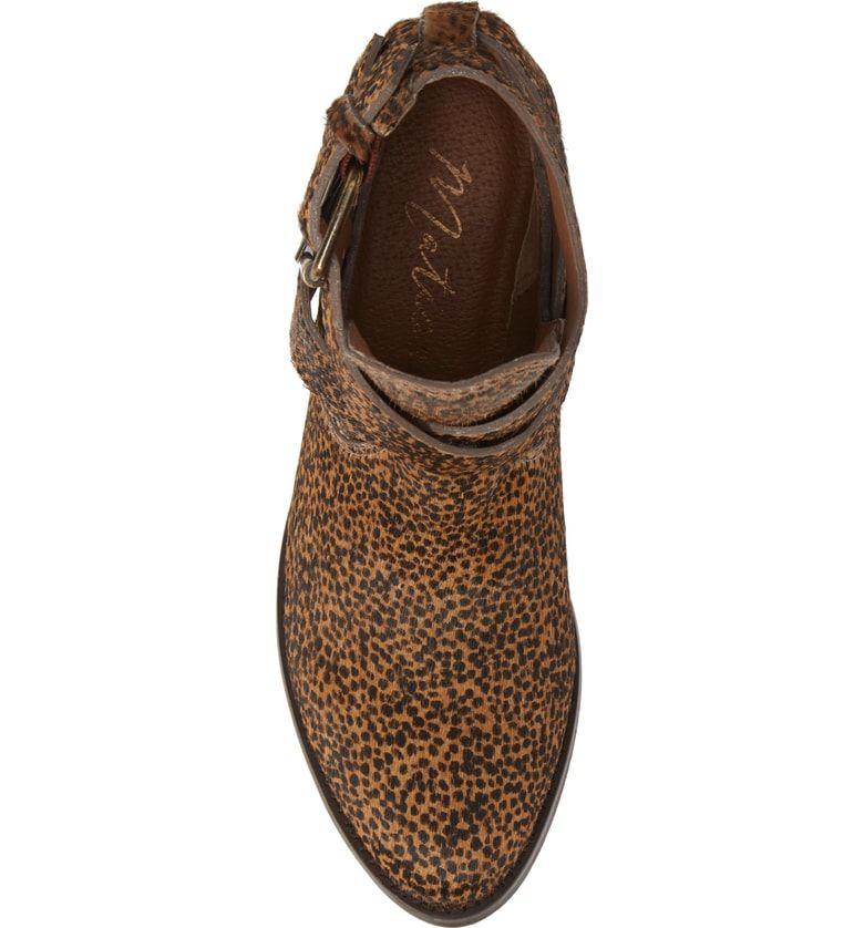3177631a1623 Raider Wraparound Strappy Bootie, Alternate, color, Leopard Calf Hair