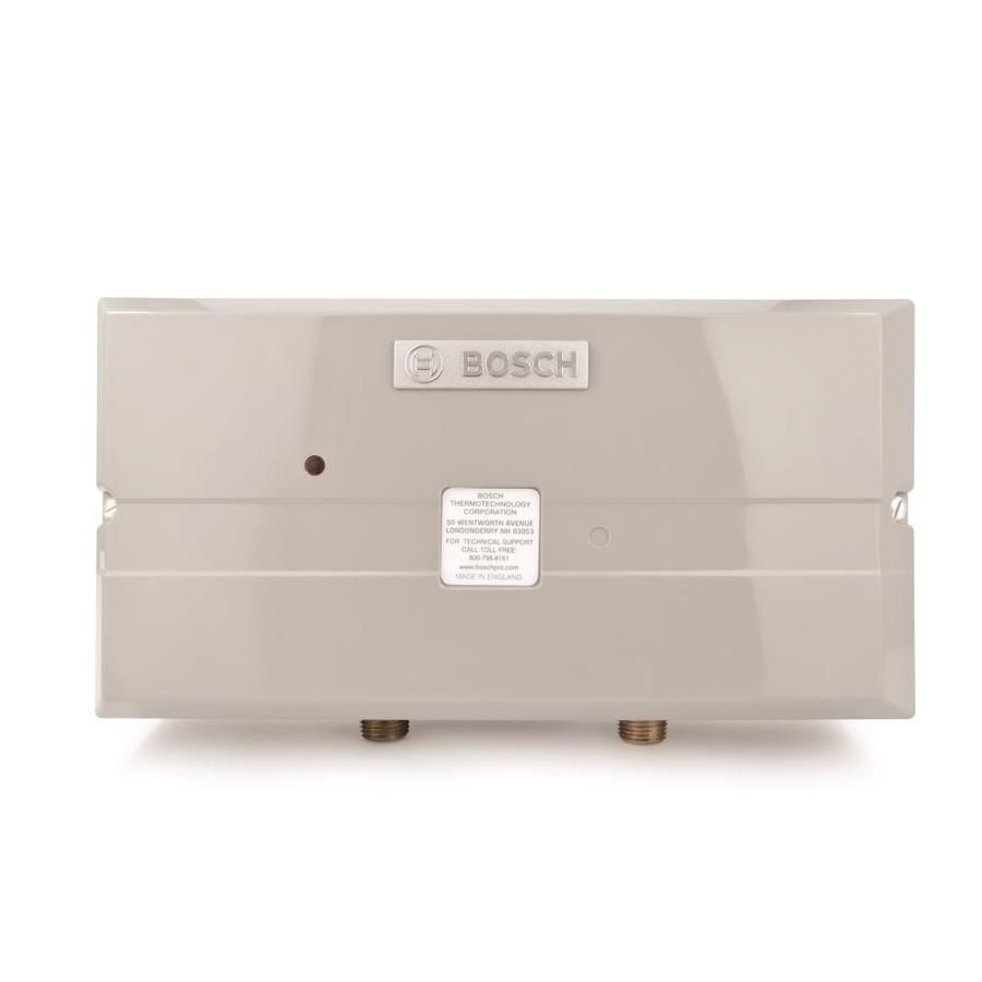 Bosch Tronic 3000 240 Volt 7 2 Kw 1 5 Gpm Point Of Use Tankless Electric Water Heater Us7 In 2020 Electric Water Heater Water Heating Water Heater