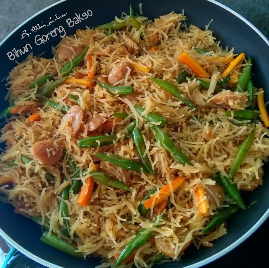 Resep Bihun Goreng C 2020 Brilio Net Instagram Yoanitasavit Instagram Purtirenkganis Di 2020 Resep Makanan Sehat Masakan Resep