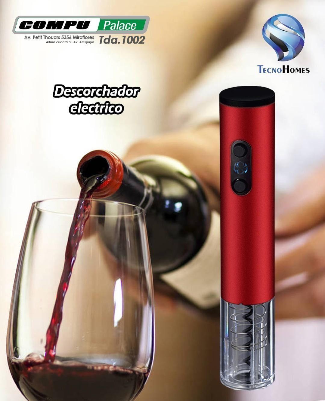 Compre En Nuestra Tienda En Miraflores O Al Whatsapp 987360140 Tecnohomes Compupalace Descorchador Abridorvino Wineop Alcoholic Drinks Red Wine Alcohol