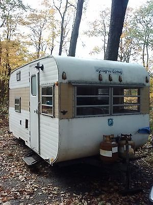 1969 14 Go Tag Along Camper Travel Trailer Gutted Just Need