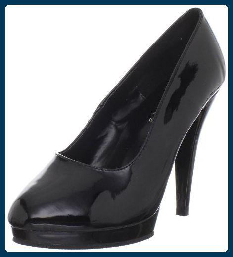 SALE /% Edle High Heels Lack Pumps Schwarz Pleaser USA Stiletto Damen Herren