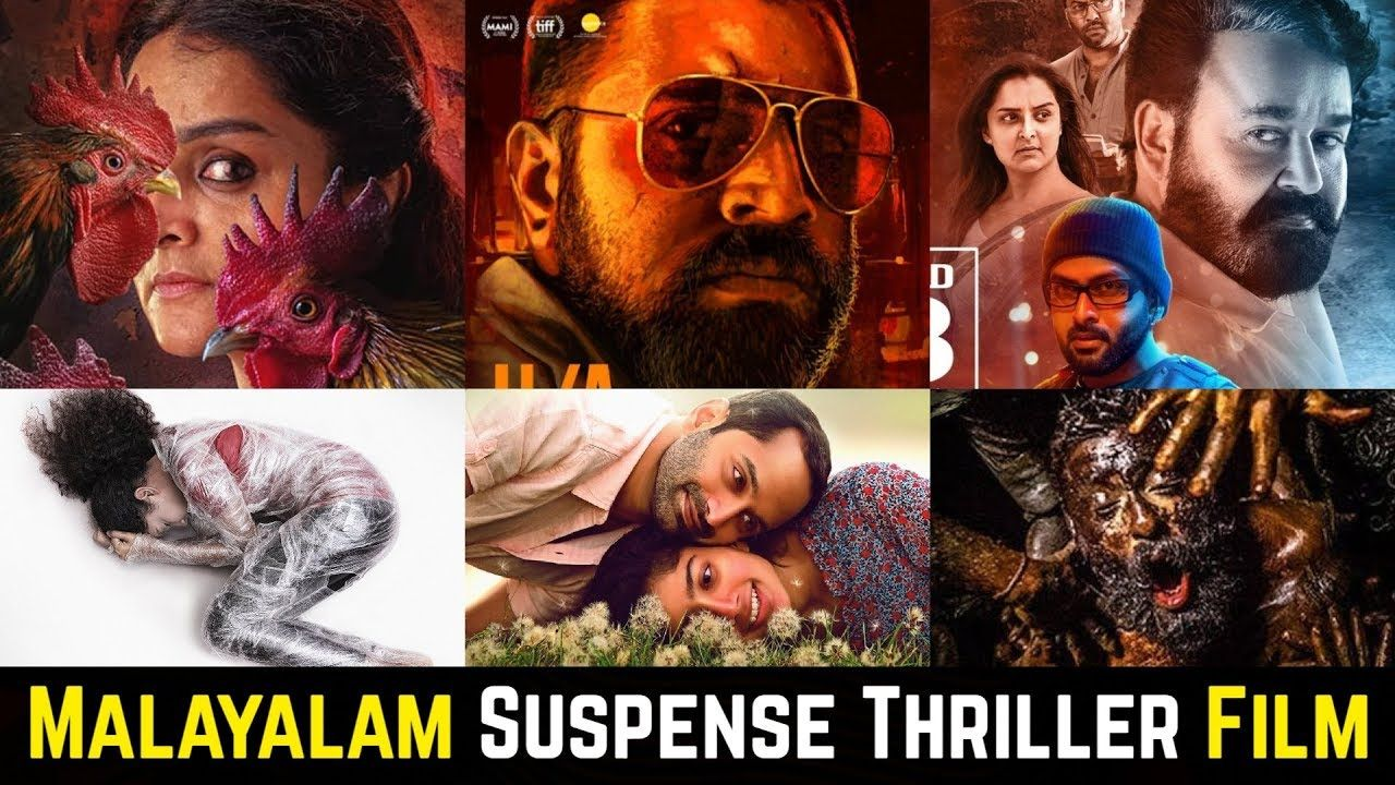 20 Malayalam Suspense Thriller Movies List of 2019