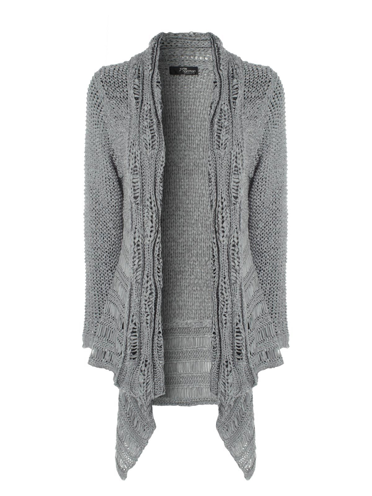 silver cable ladder stitch cardigan | Yarny things and knitting ...