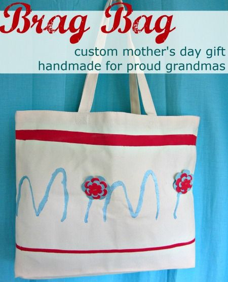 Grandma's Brag Bag – Mother's Day Gift  -  Pinned by @PediaStaff – Please Visit http://ht.ly/63sNt for all our pediatric therapy pins