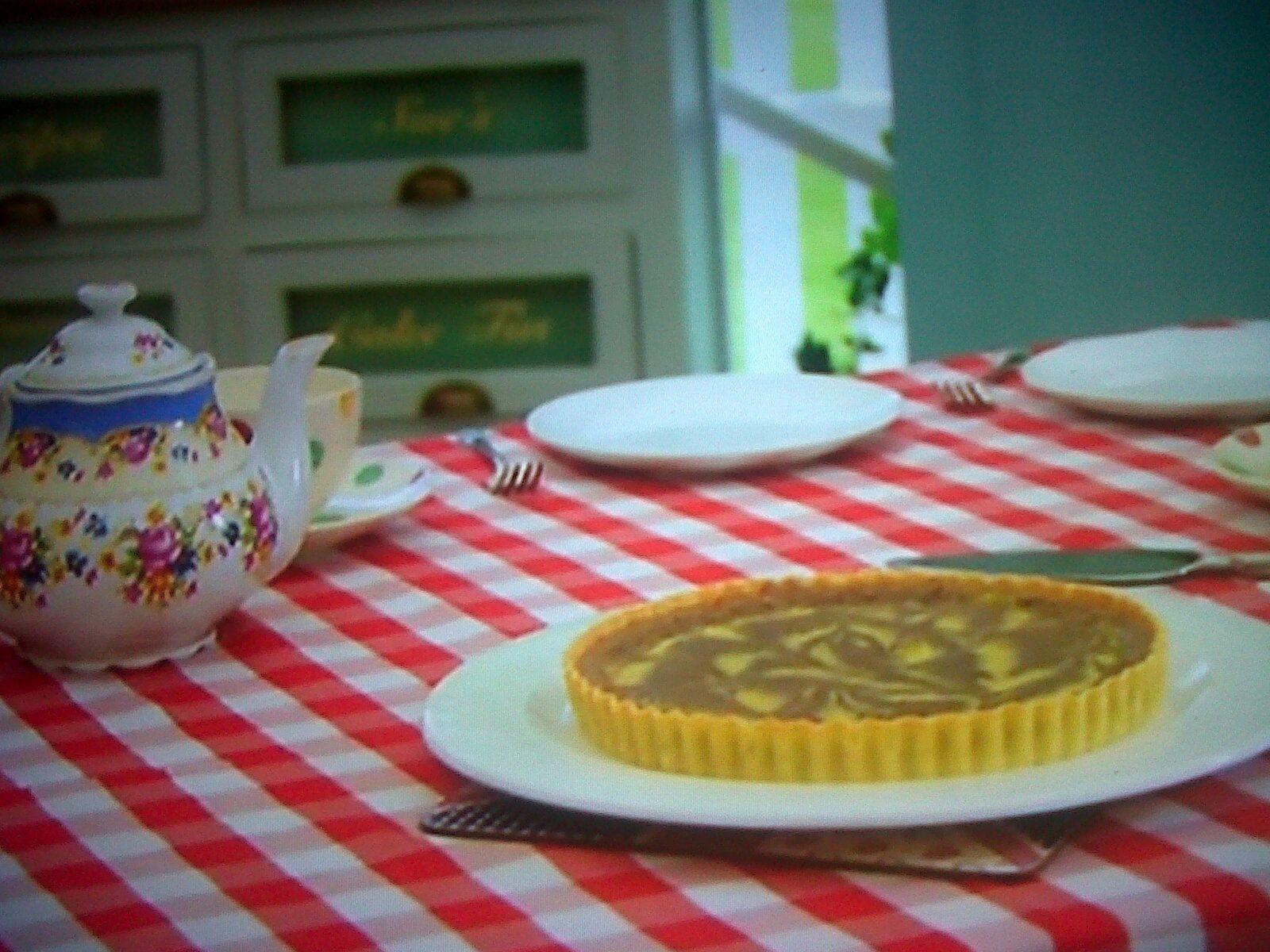 Mary's Chocolate Orange Tart Featured On The Great British Bake Off Masterclass