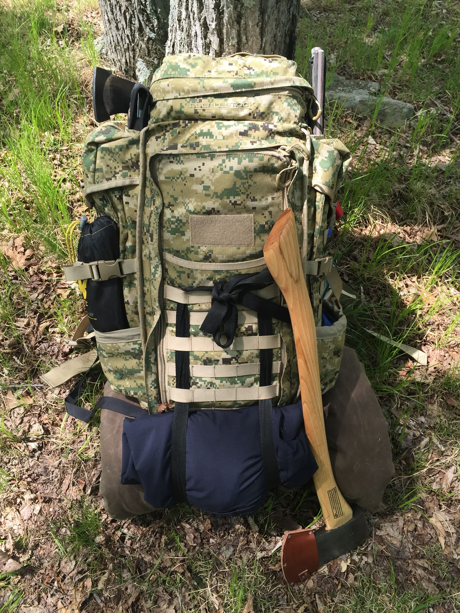My Tactical Bushcraft Bag Halftrack By Eberlestock