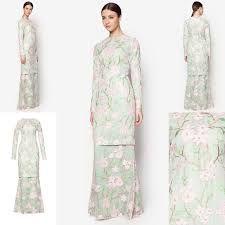 Gambar baju muslim long dress terkini