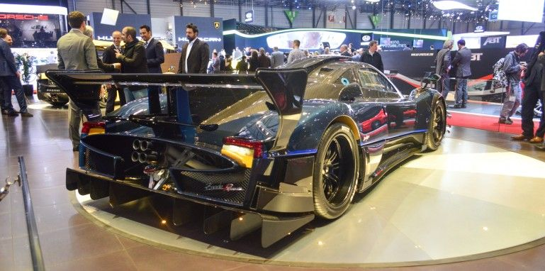 The limited edition Revolucion, essentially a Zonda R on steroids, features acres upon acr...