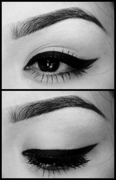 Eyebrows, liner