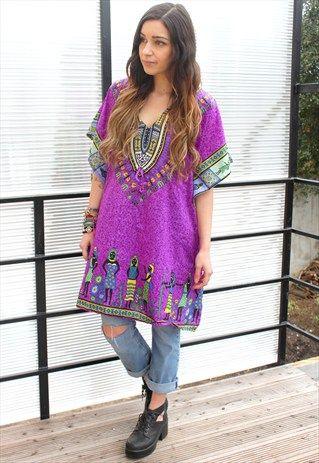 printed+tunic+ethnic+vintage