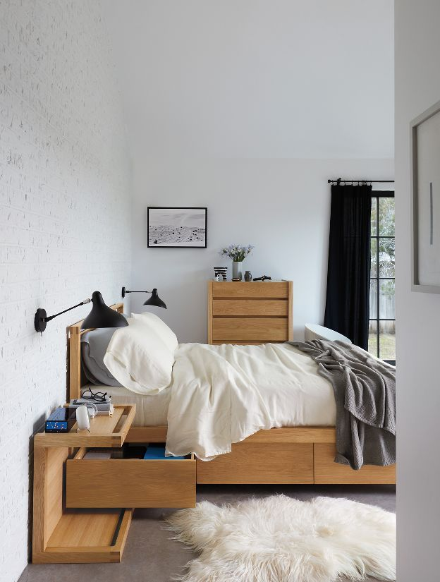 Matera Bed With Storage Small