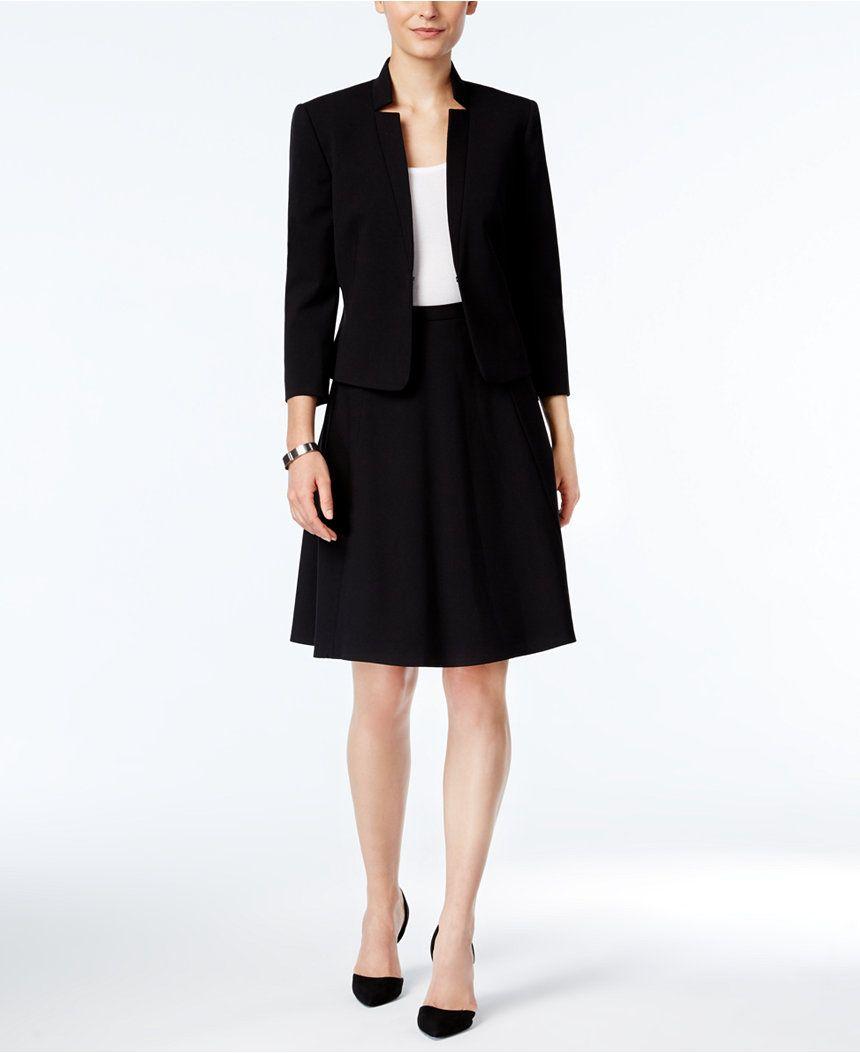 54a51bb944b8 Tahari ASL A-Line Skirt Suit - Suits & Suit Separates - Women - Macy's