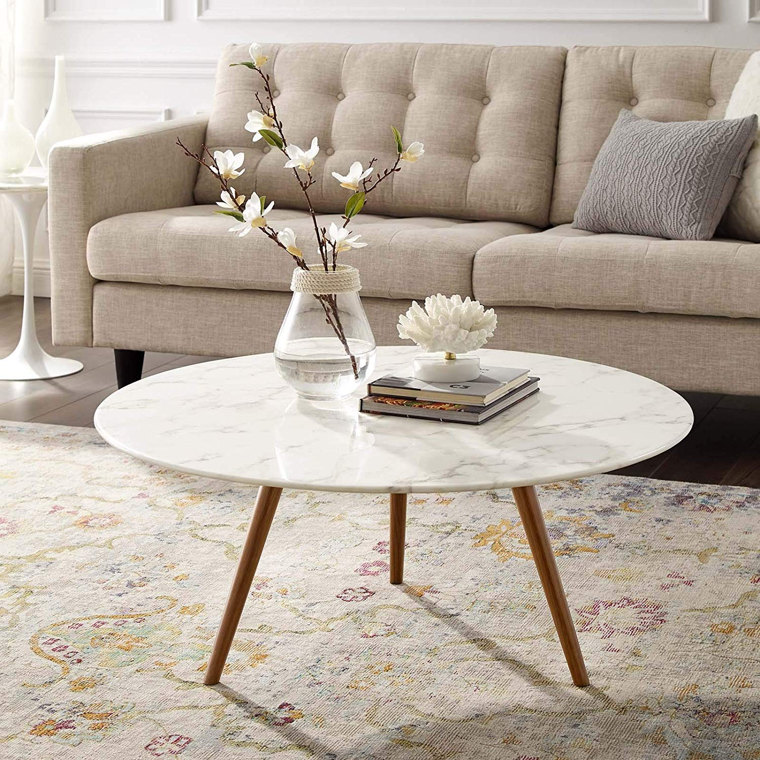 Pin By Prince Quesadilla On Living Room Design Board Coffee Table Round Coffee Table Modern Coffee Table White [ 1500 x 1500 Pixel ]