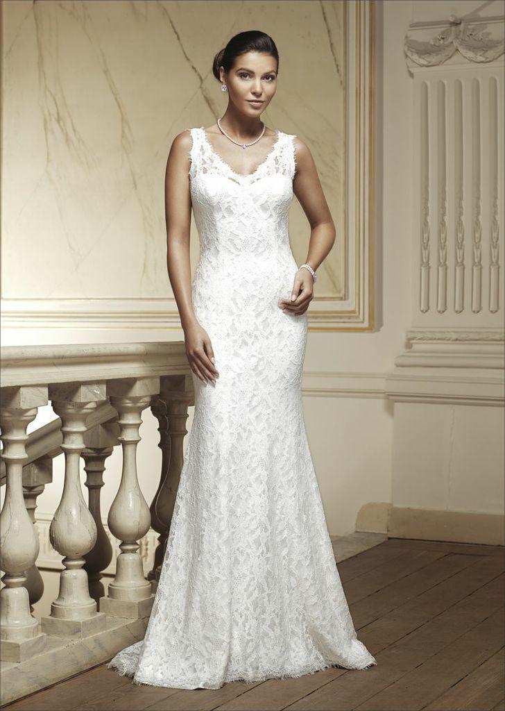 Modeca wedding dress Pippa. Vintage inspired lace dress. | Vintage ...
