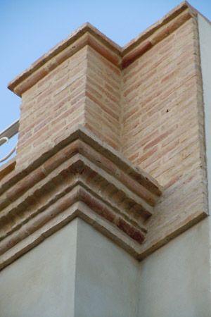 Fachada con ladrillos r sticos casas pinterest - Fachadas ladrillo rustico ...