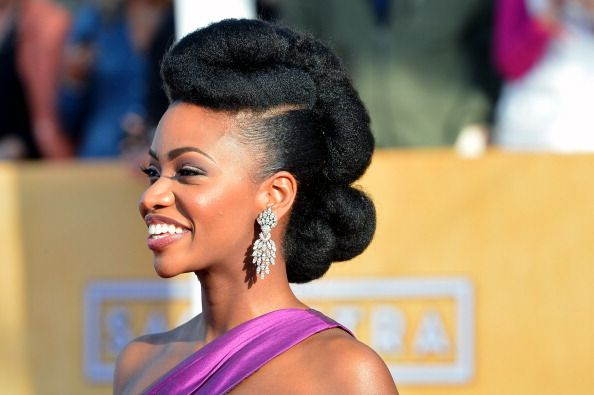Fabulous 1000 Images About The Up Dos On Pinterest Black Women Natural Short Hairstyles Gunalazisus
