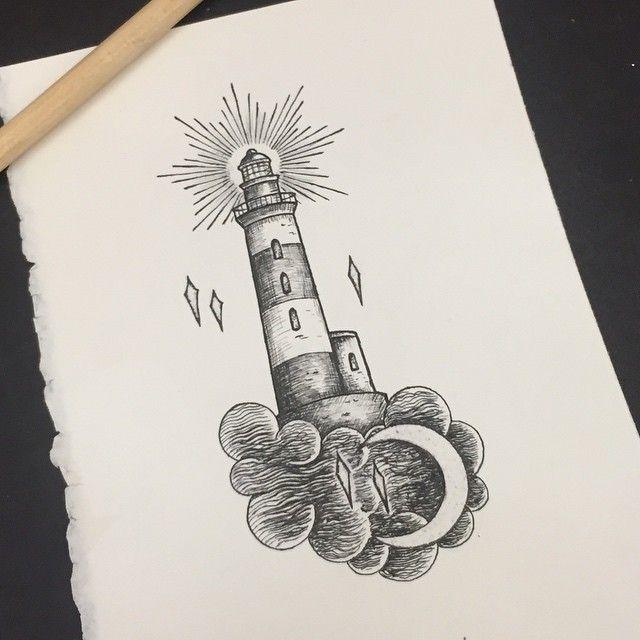 lighthouse old school vector Пои�к в google � art and
