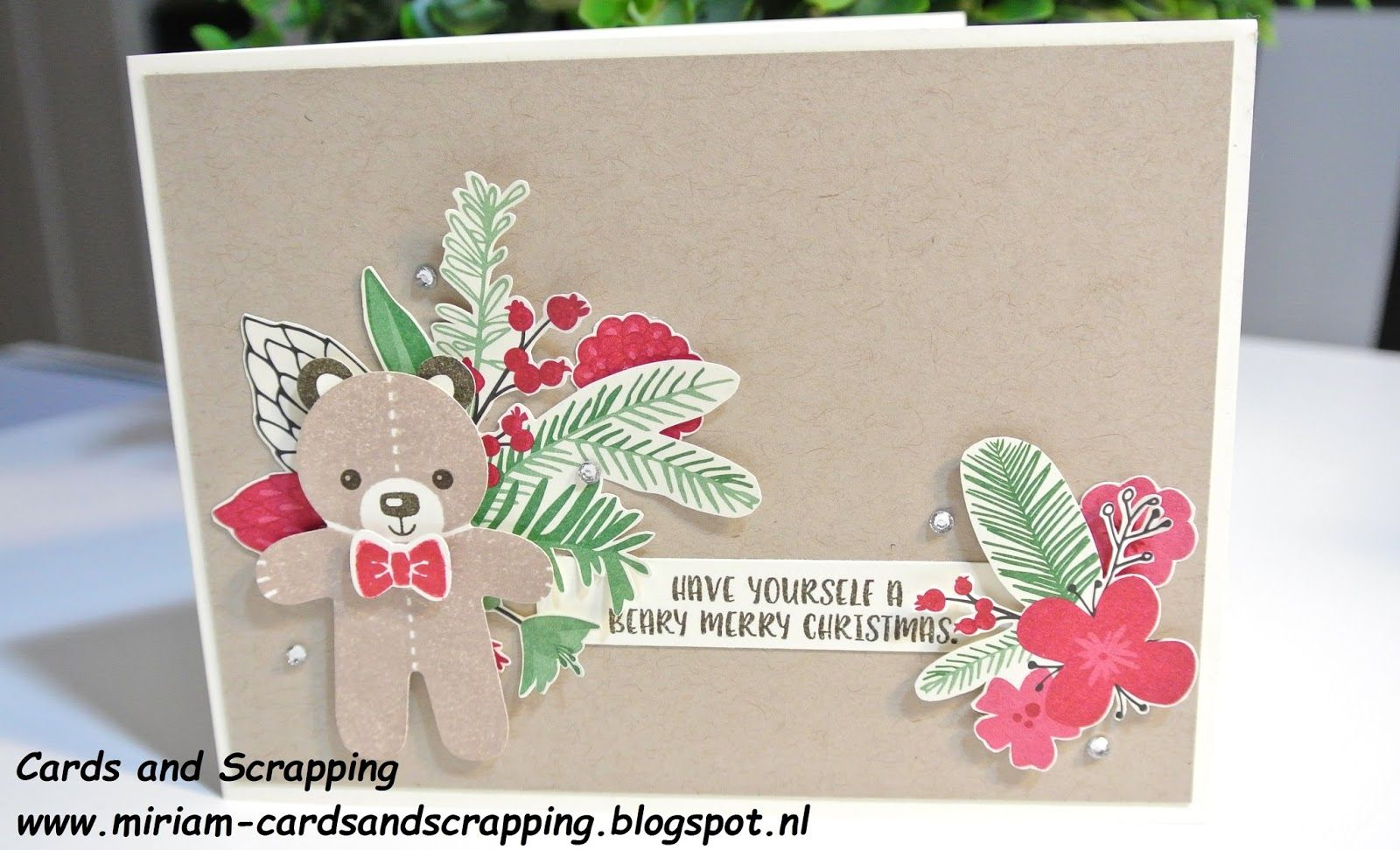 Cookie Cutter Christmas Stampin Up by Cards and Scrapping
