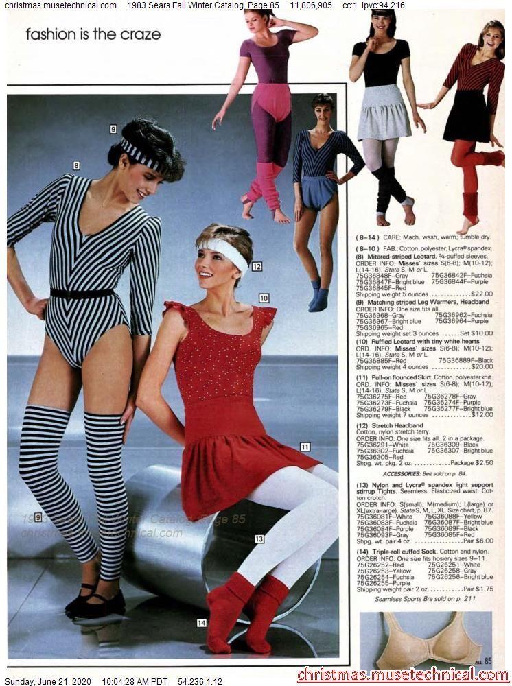 1983 Sears Fall Winter Catalog, Page 85 - Christma