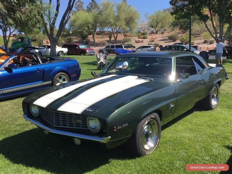 1969 Chevrolet Camaro Z28 #chevrolet #camaro #forsale #unitedstates ...