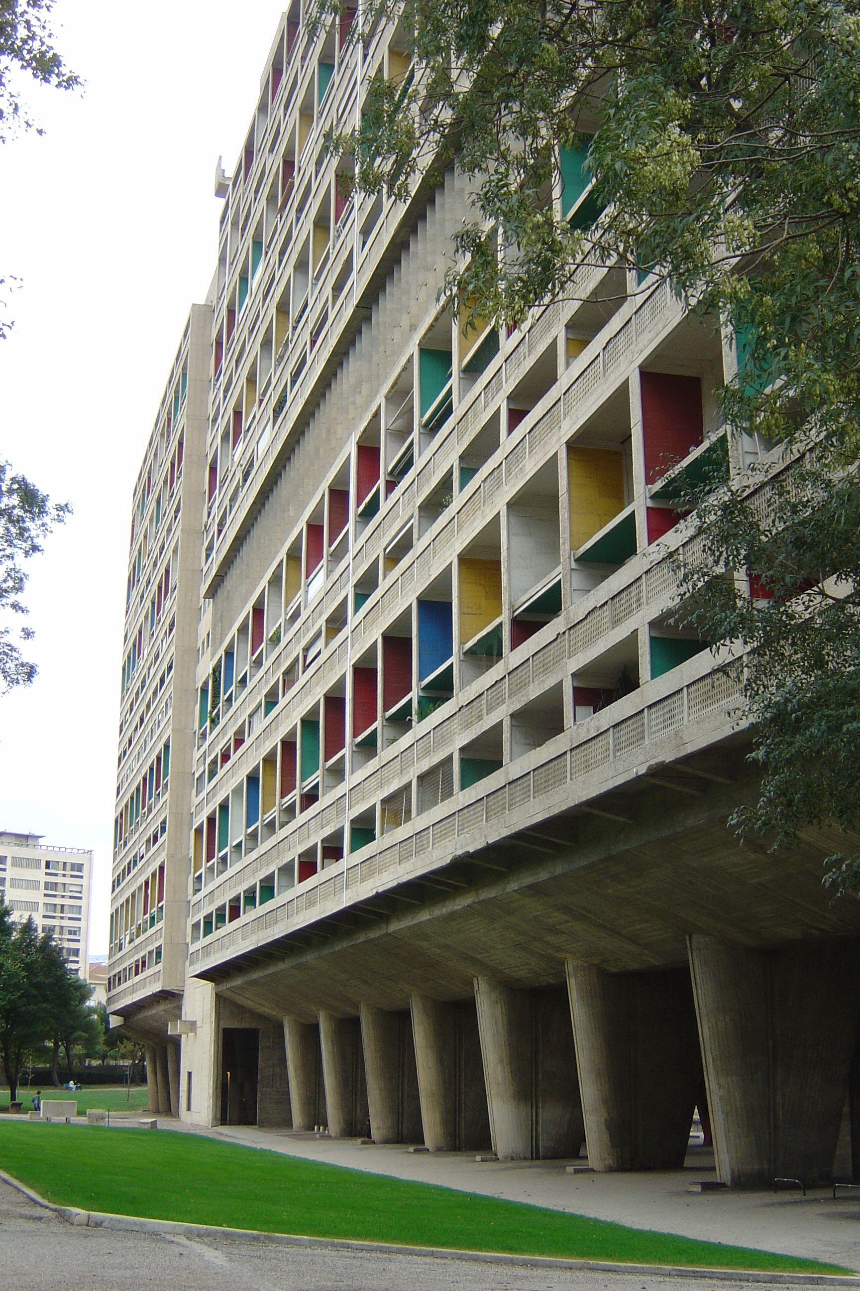 Le corbusier cite radieuse/marseille Marseille, Le