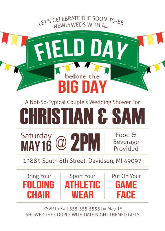 field day flyer template