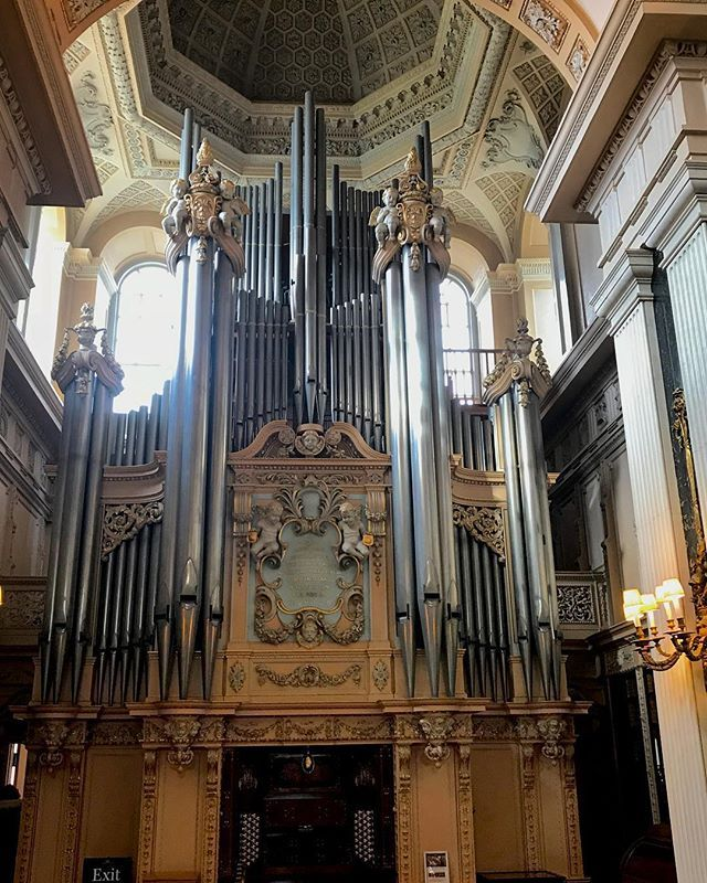 Countryhome Interior Design: The Long Library Organ At Blenheim Palace. One Of The