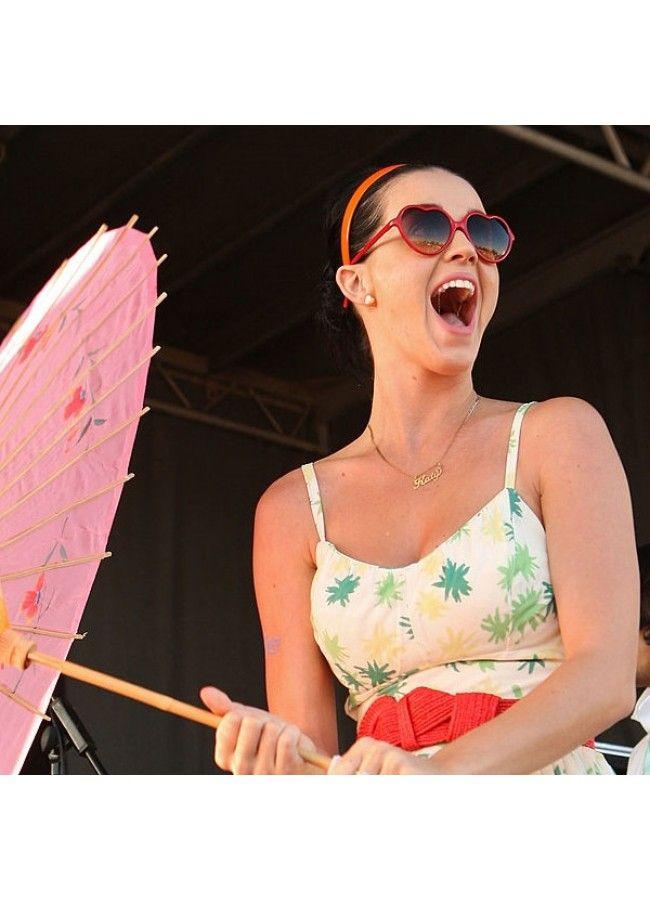 Katy Perry Style Plastic Heart Sunglasses | Heart sunglasses, Katy ...
