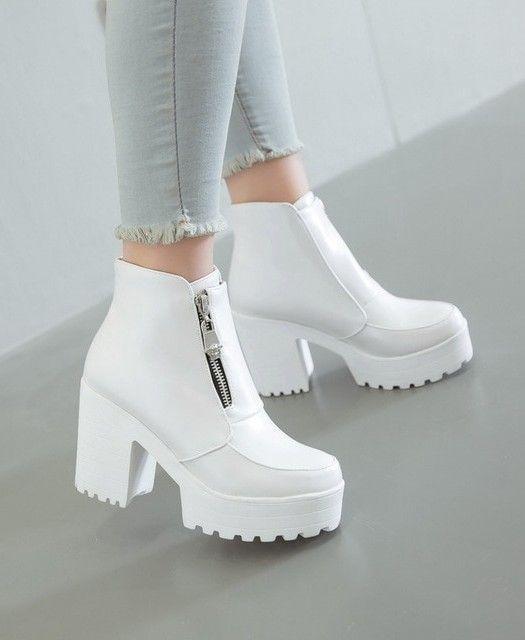 Platform Ankle Boots - #Fashion #Schuhe #Stiefel