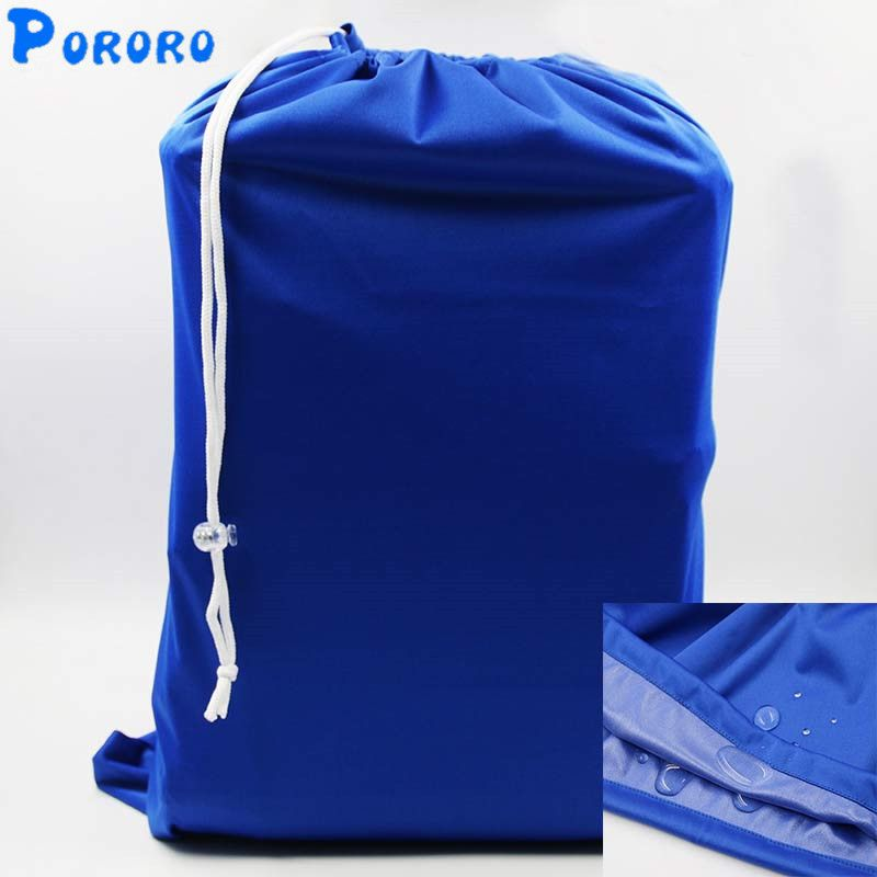 e4695ba0e8 Large Capacity Baby Cloth Diaper Bags Waterproof Draw String Reusable Wet  Dry Bags Wetbags Bolso Grande