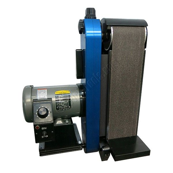 6 Variable Speed Bench Grinder Part - 40: Absolutely The Nicest Belt Grinder Available Anywhere. Billet Aluminum, Variable  Speed, 1.5 Hp