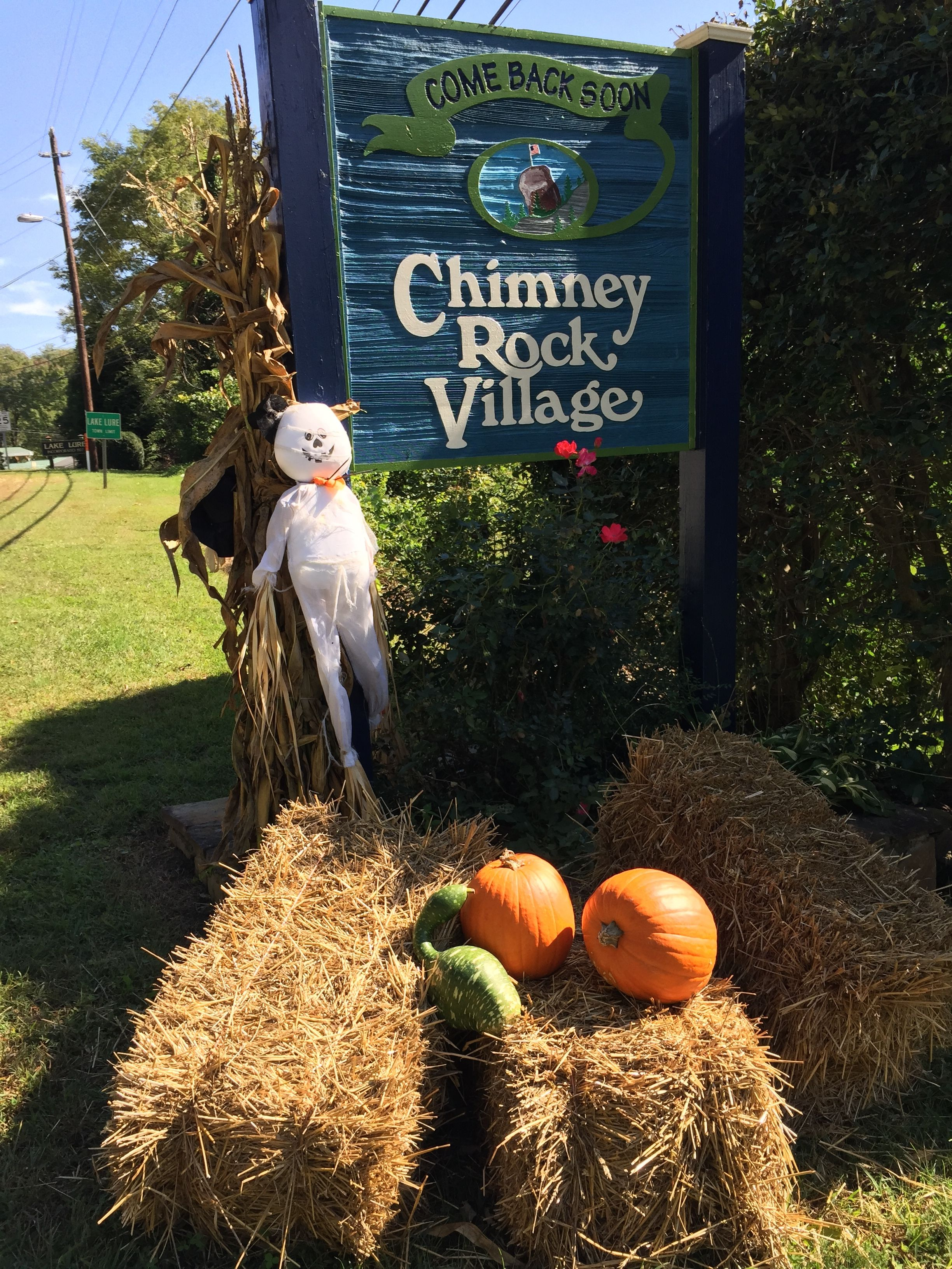 Take stroll and check out all the fall color in Chimney Rock Village!
