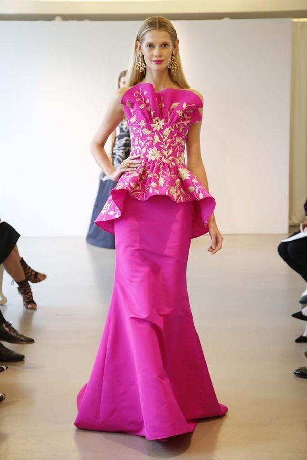 Oscar de la Renta | vestidos de fiesta | Pinterest | Oscar de la ...