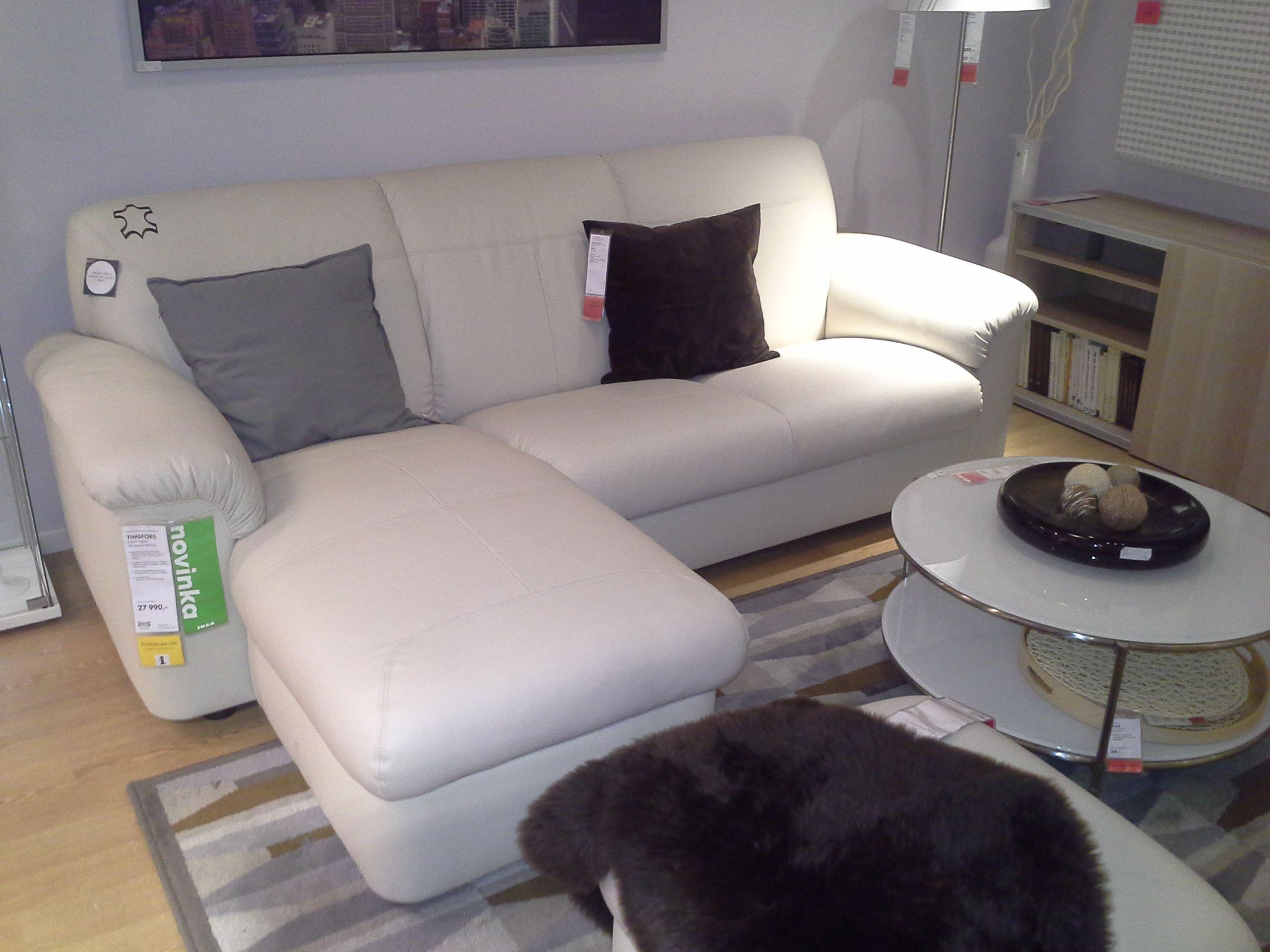 Ordnungssysteme Ikea sedací souprava ikea timsfors 2 místná pohovka s lenoškou barva