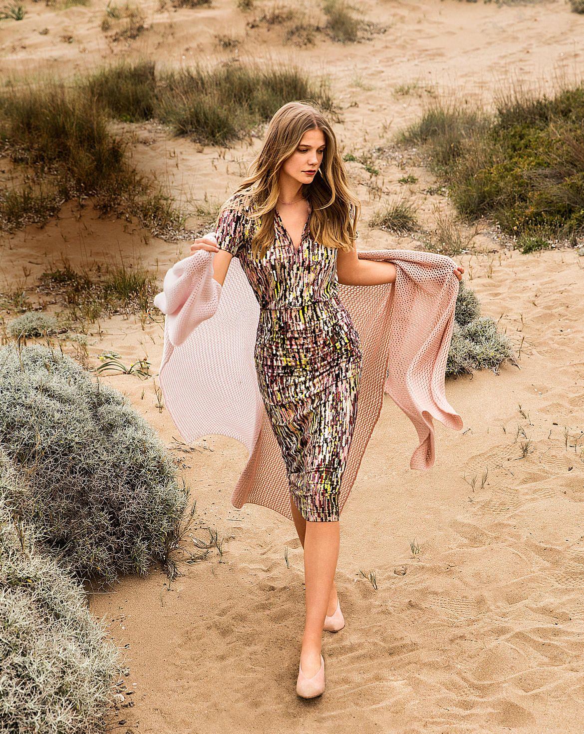 Kleid  Mode zum Selbernähen im burda style Onlineshop