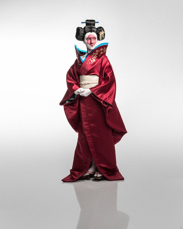 Ghost In The Shell Robot Geisha Cosplay Ghost In The Shell Geisha Funny Cosplay