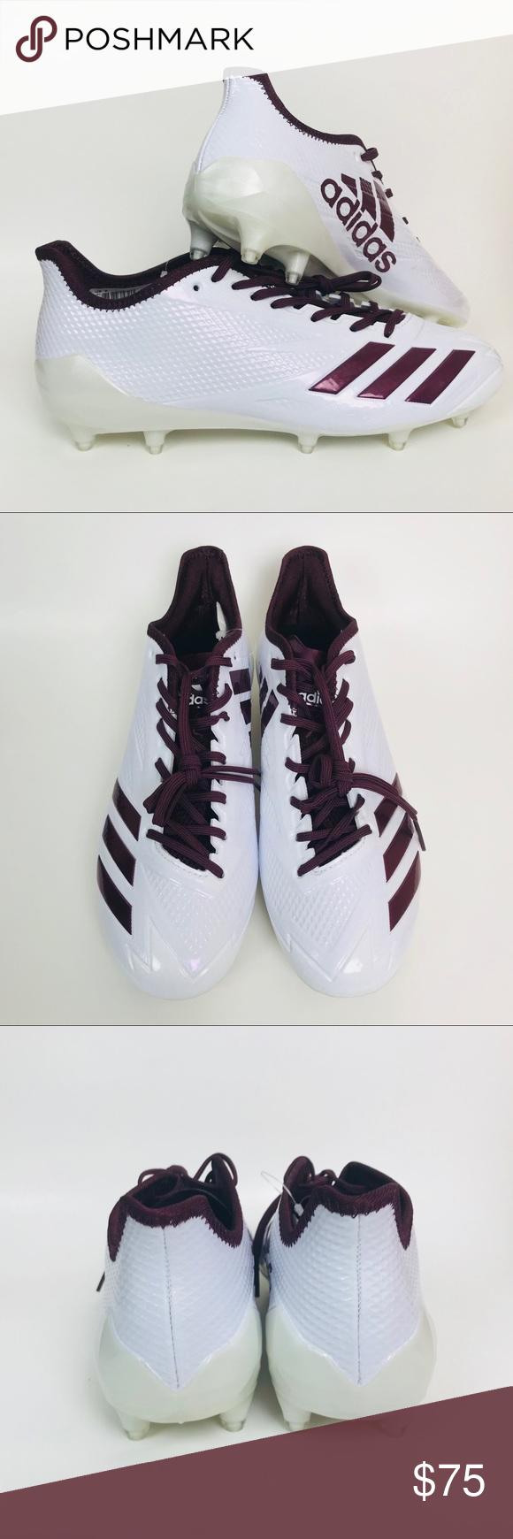 best service 54e7f 9f768 Adidas Adizero 5 Star 6.0 Football Cleats BW1084 NIB Mens Adidas Adizero 5  Star 6.0 Football